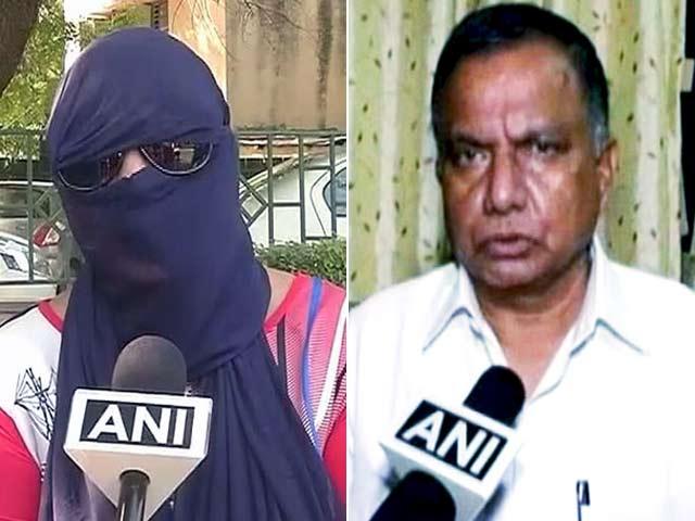 Video : बीजेपी सांसद को 'हनीट्रैप' में फंसाने वाली महिला को पुलिस ने हिरासत में लिया गया