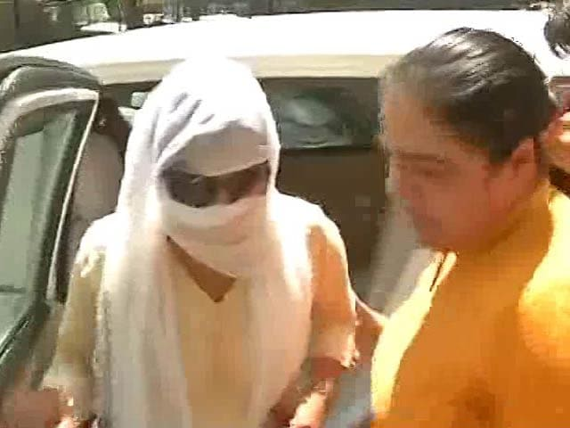 Video : Woman Accused Of Honey-Trapping BJP MP KC Patel Taken Into Custody For Questioning