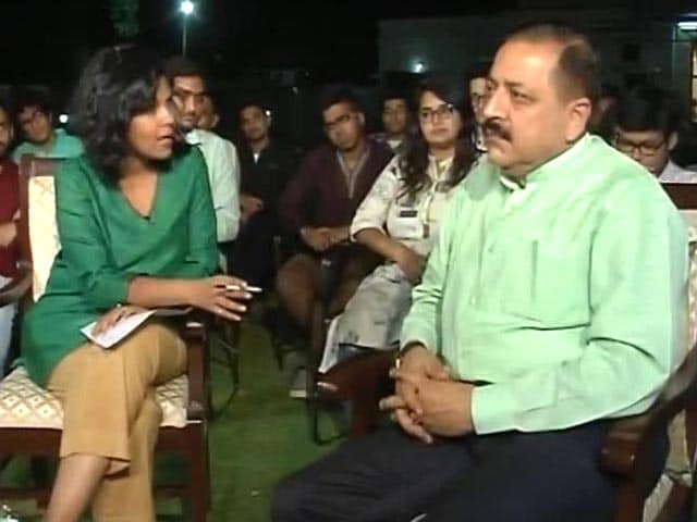Video : Agenda Special: Union Minister Jitendra Singh On Kashmir Unrest
