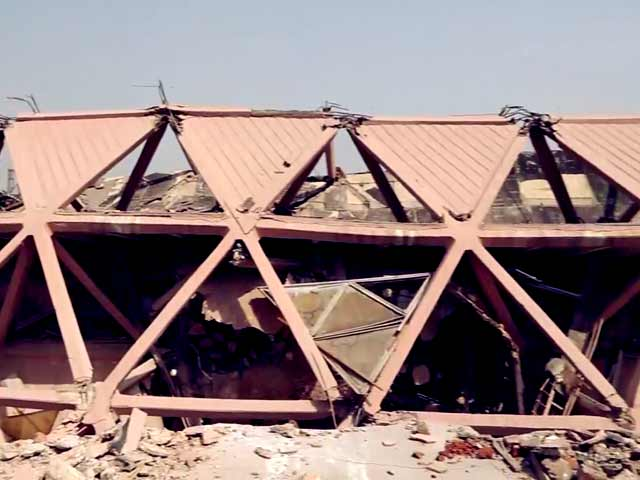Video : Delhi's Iconic Hall Of Nations, Hall of Industries At Pragati Maidan Demolished