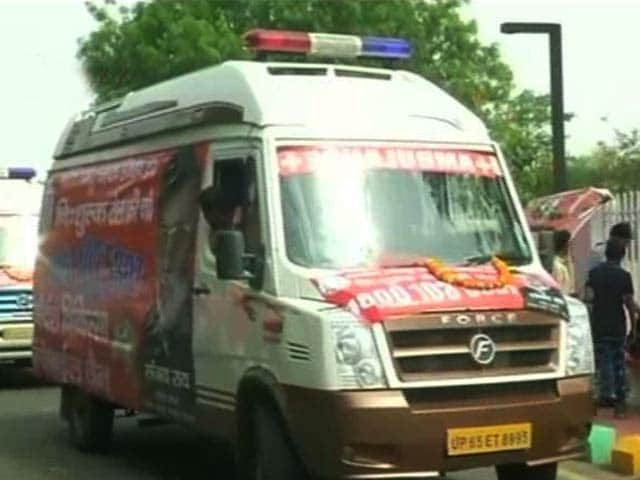 Video : In Uttar Pradesh, Where Father Carried Son's Body, Ambulances For Cows
