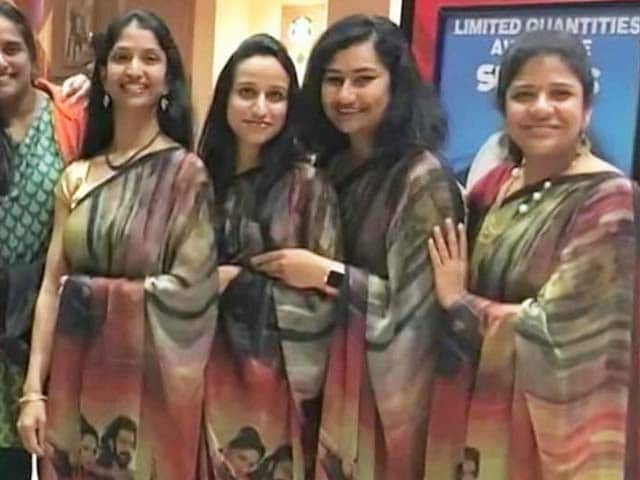 'Baahubali Sarees'. A Hit, Just Like The Film