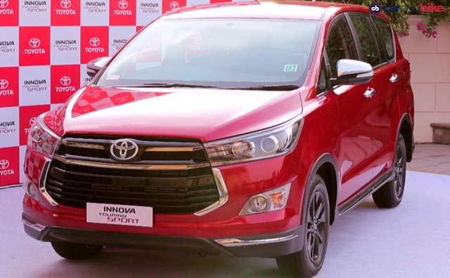 Video: Toyota Innova Crysta Touring Sport First Look