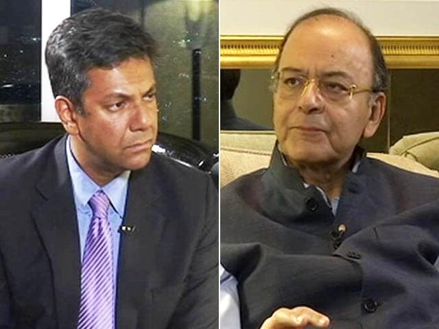 Video : Exclusive: Don't Know Who Is In Charge In Pakistan, Arun Jaitley Tells NDTV