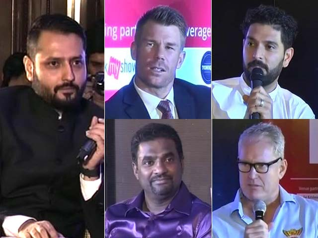 Video : Yuvraj Singh, David Warner Choose Their Favourites For Champions Trophy 2017