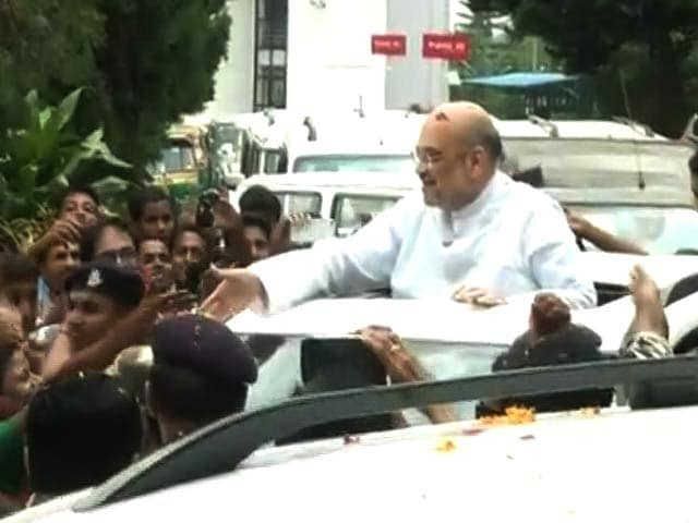 Video : Mission Tripura: BJP President Amit Shah In Left Bastion, Says Rival Leaders In Touch