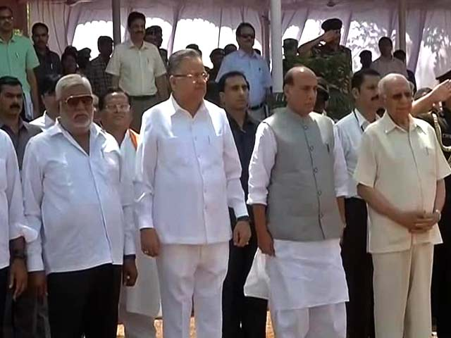 Video : Rajnath Singh, Chief Ministers To Brainstorm To Meet Maoist Challenge
