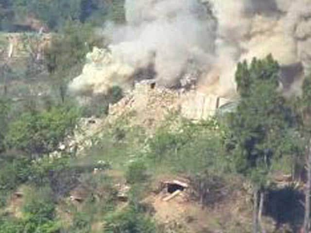 Video : Video Shows Army Destroying Pak Bunker With Tanks, Missiles