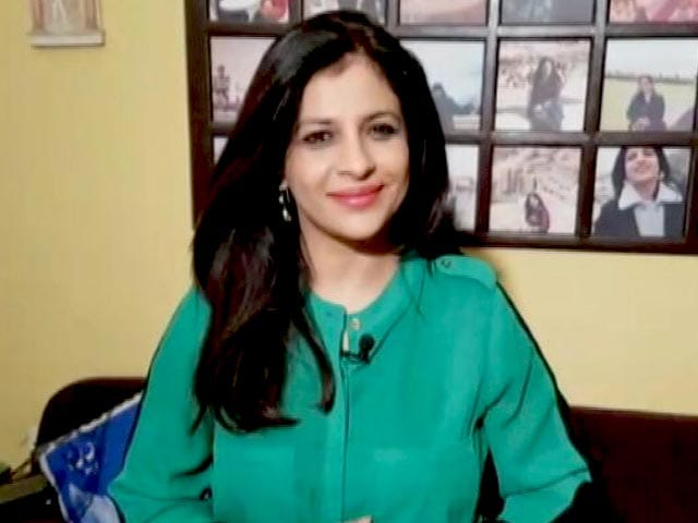 Video : BJP's Shazia Ilmi Encourages Students To Participate In Behtar India Campaign