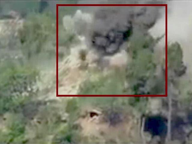 Videos : वीडियो में दिखा, भारतीय सेना की कार्रवाई में पाकिस्तान का बंकर तबाह