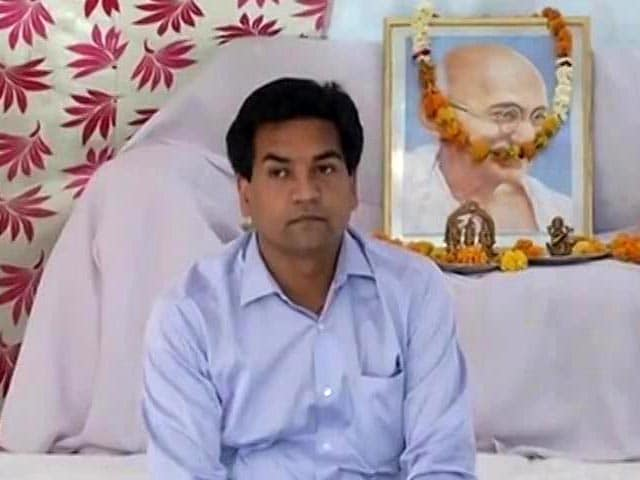 Video : Sacked Minister Begins Hunger Strike, Has Question For Arvind Kejriwal