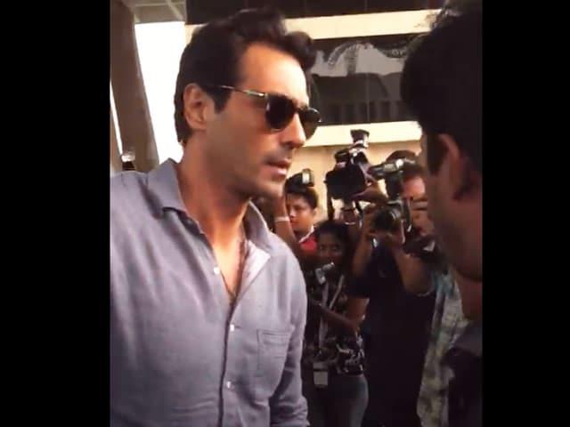 Arjun Rampal Attends Justin Bieber's Concert In Mumbai
