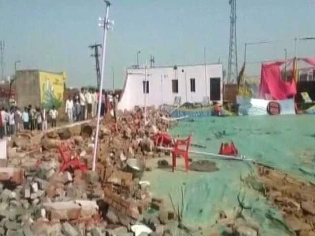 Video : 26 Dead As Wall Of Wedding Hall Collapses In Rajasthan's Bharatpur