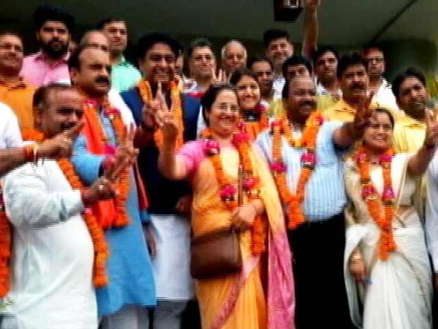 Video : दिल्ली के तीनों नगर निगमों में मेयर पद पर महिलाएं
