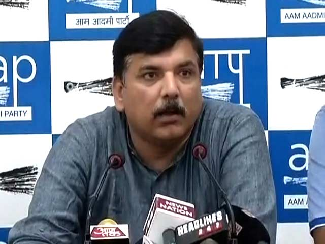 Video : BJP Complaining Of Corruption Is Like Gabbar Preaching Non-Violence: AAP