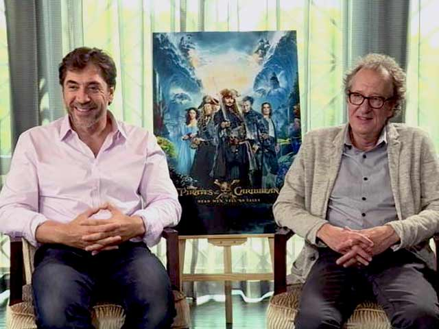 Video : <i>Pirates of the Caribbean 5</i>: Javier Bardem On Playing 'The Angry Ghost'