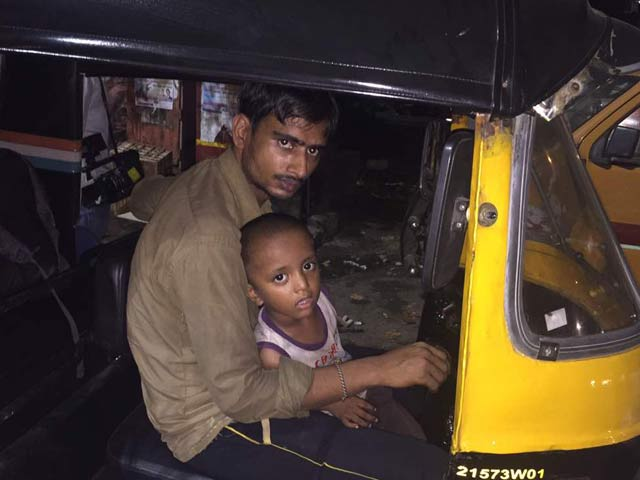 Video : Wife Paralysed, Mumbai Auto Driver Takes 2-Year-Old Son Along To Work