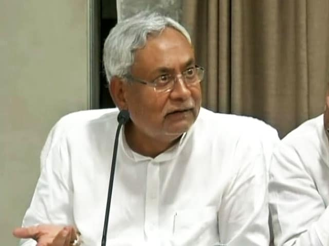 Video : People Saw Potential In Modi, I Don't Have Ability To Become PM: Nitish Kumar