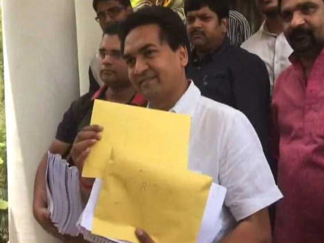 Video : केजरीवाल पर नए आरोपों को लेकर कपिल मिश्रा ने CBI को सौंपे सबूत...