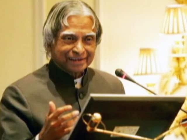 Video : डॉ.एपीजे अब्दुल कलाम को नासा का सम्मान