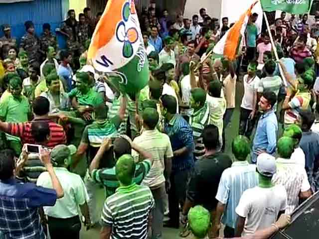 Video : Mamata Banerjee's Party Scores In Civic Polls, Plants A Foot On BJP Turf