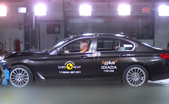 New BMW 5 Series Scores 5 Stars In Euro NCAP Test