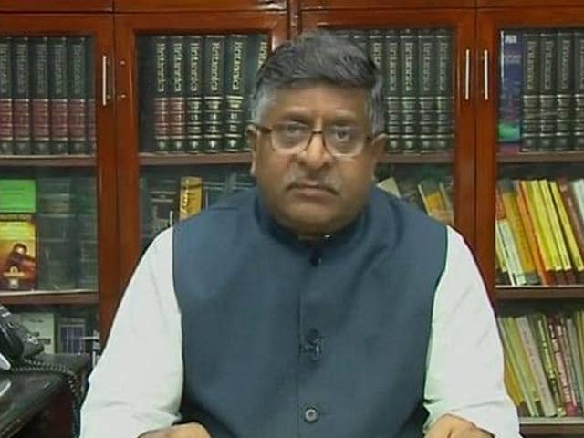 Video : 'Team Effort' Led To Stay On Kulbhushan Jadhav's Execution: Ravi Shankar Prasad To NDTV