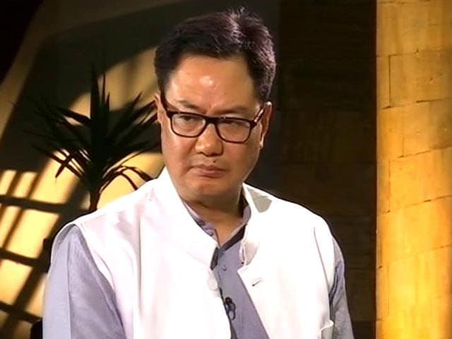 Video : Forces Have Rights Too, Says Kiren Rijiju On Human Shield Used In Kashmir