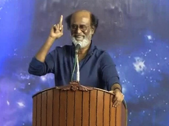Video : 'I Will Call You When There Is War': Rajinikanth's Vote Appeal