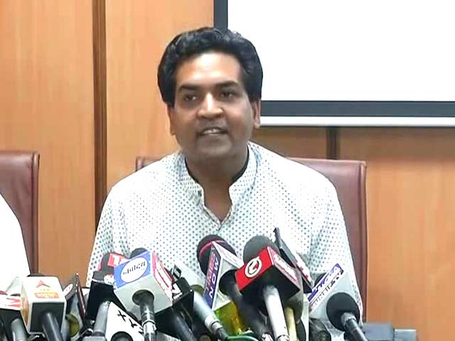 Video : Arvind Kejriwal Into Money-Laundering, So Opposed Notes Ban: Kapil Mishra