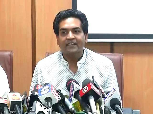 Video : Arvind Kejriwal Into Money-Laundering, So Opposed Notes Ban: Kapil Mishra
