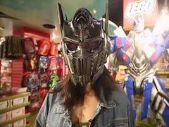 Optimus Prime Voice-Changer Helmet