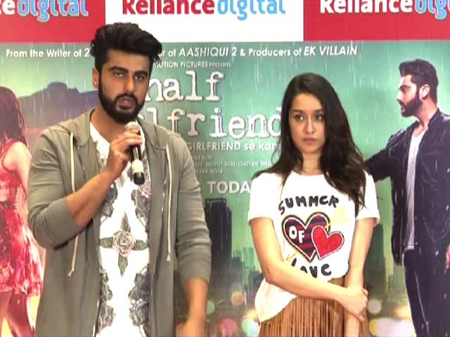 Video : Arjun Kapoor Drank Tequila Shots Before Filming An Intense Scene in <i>Half Girlfriend</i>
