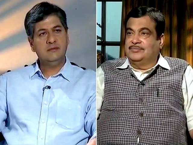 Video : 'Finishing 5 Years Our 1st Test': Nitin Gadkari On 3 Years Of Modi Government