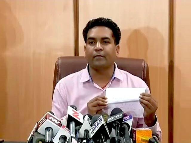 Video : नंबर प्लेट आवंटन में 400 करोड़ रुपए का हुआ घोटाला: कपिल मिश्रा