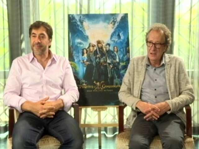 Video : <i>Pirates of the Caribbean 5</i>: Javier Bardem Says It Was Fun Playing 'The Angry Ghost'