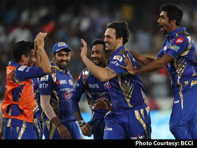 Video : Mumbai Indians Beat Rising Pune Supergiant By 1 Run To Clinch Third IPL Title