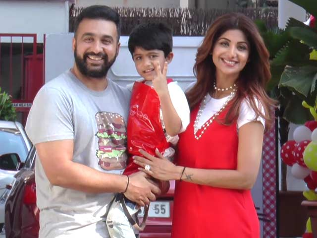Shilpa Shetty Celebrates Son Vivaan's Fifth Birthday