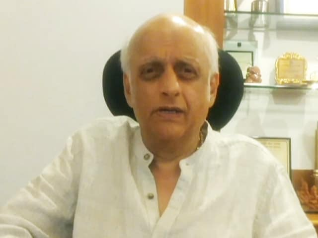 Video : Don't Treat Us Like <i>Paan</i> and <i>Gutka</i> Industry:  Mukesh Bhatt on 28% GST Announcement