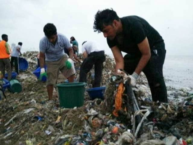 Meet The Man Behind The Versova Beach Clean-Up