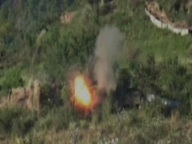 Video : Massive Fire Assault On Pak Posts, Says Army, Releasing Video