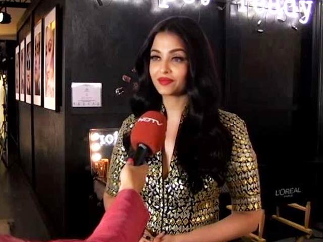 Video : Cannes Film Festival: Aishwarya Rai Bachchan Talks About Her Best Memories