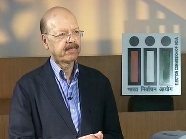 2 Days To Go, But EVM Challengers Missing: Election Commissioner To NDTV