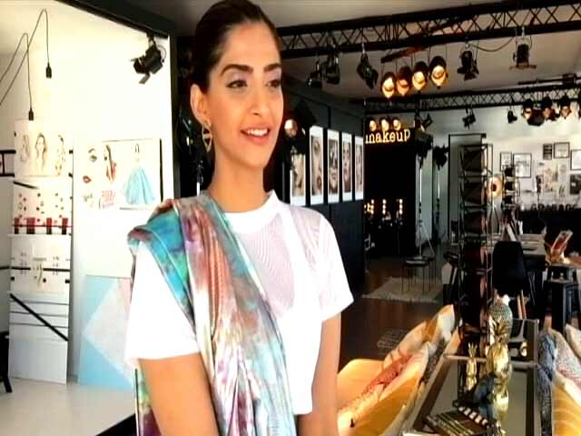 Video : Sonam Kapoor Speaks Her Mind At Cannes