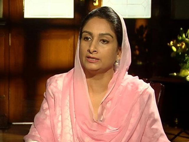Video : Harsimrat Badal To NDTV: 'Pak-Connected Family Staying In Punjab Chief Minister's House'