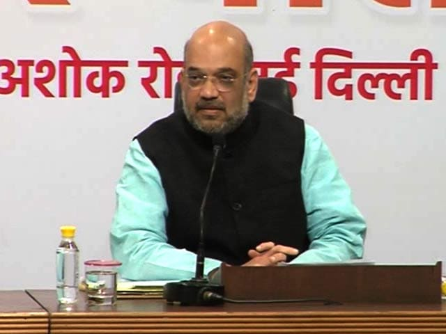 Video: Modi Government Has Met People's Aspirations, Says Amit Shah