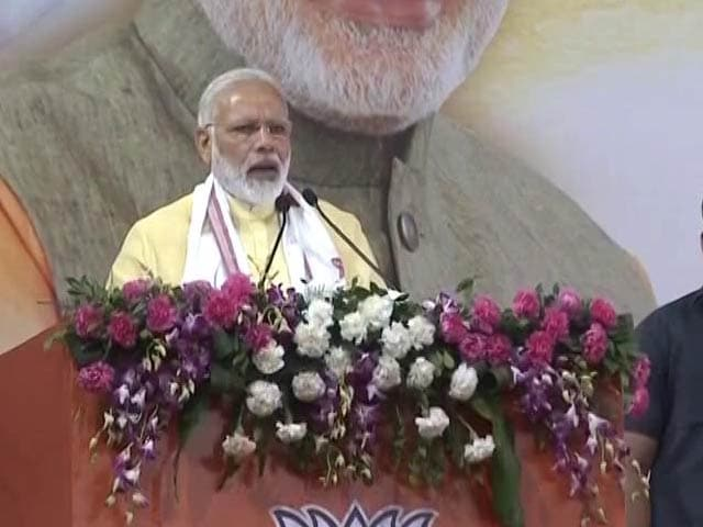Have to Double Farm Income By 2022, Says PM Modi In Guwahati