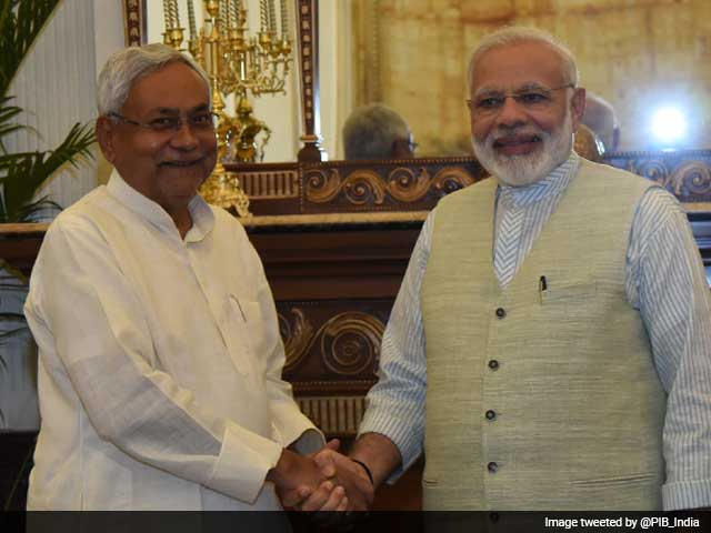 Video : Nitish Kumar Meets PM Modi, Day After Skipping Sonia Gandhi's Invite