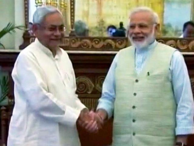 Video : दिल्ली में पीएम मोदी से मिले बिहार के मुख्यमंत्री नीतीश कुमार