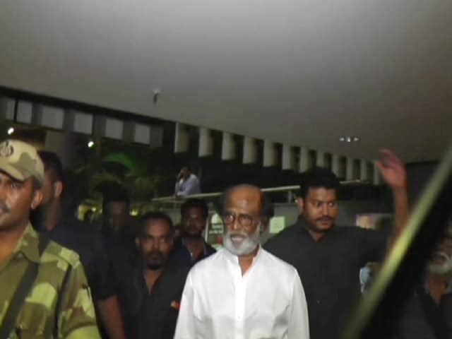 Rajinikanth In Mumbai To Shoot For Kaala
